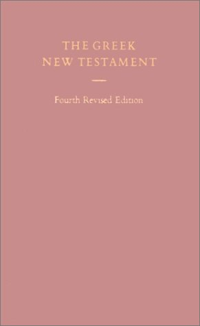 Greek New Testament by Anonymous
