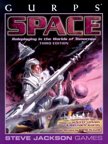 GURPS Space: Roleplaying in the Worlds of Tomorrow