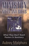 Ministry Nuts and Bolts by Aubrey Malphurs