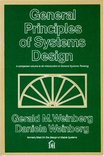 General Principles of Systems Design