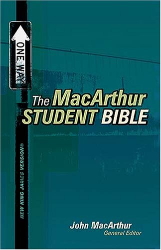 The MacArthur Student Bible -New King James Version by Anonymous