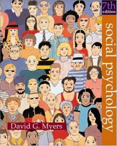 Social Psychology with Student Social Connection CD ROM by David G. Myers