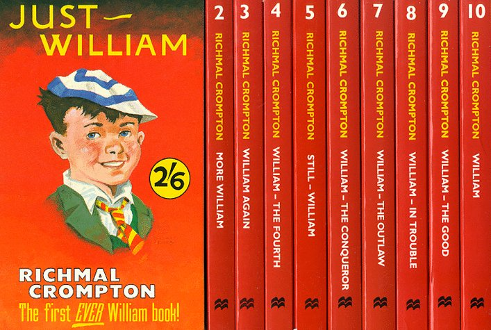Just William Boxed Set by Richmal Crompton