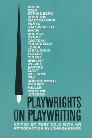 Playwrights on Playwriting