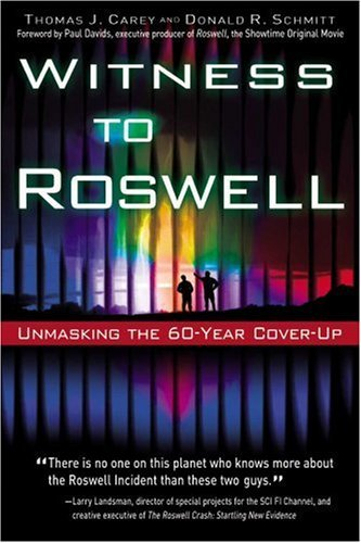 Witness to Roswell by Thomas J. Carey