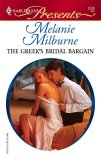 The Greek's Bridal Bargain by Melanie Milburne