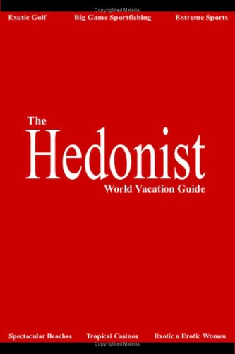 The Hedonist by Brett Tate