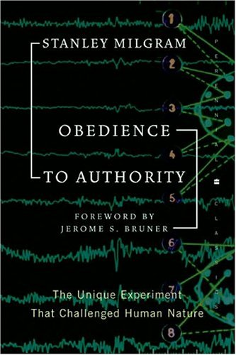 Obedience to Authority: An Experimental View