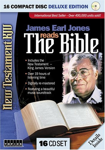 James Earl Jones Reads the Bible–New Testament KJV by Anonymous