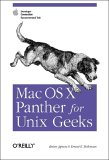 Mac OS X Panther for Unix Geeks: Apple Developer Connection Recommended Title