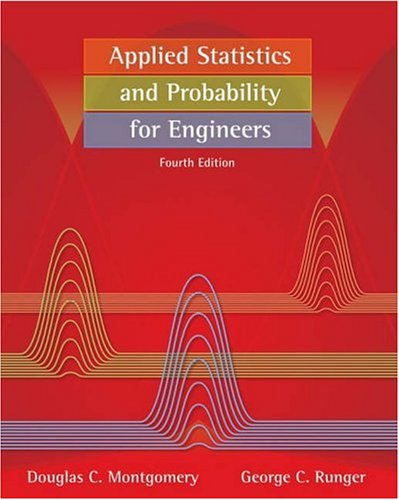 Applied Statistics and Probability for Engineers [With Free A... by Douglas C. Montgomery