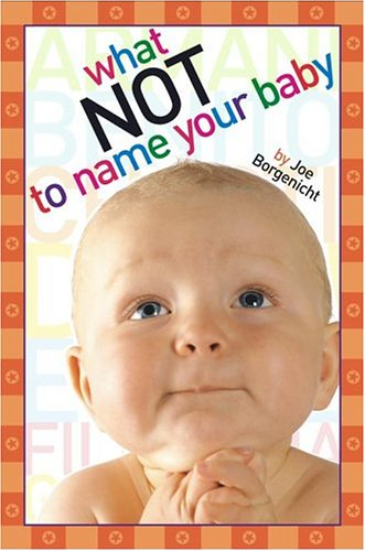 Download What Not to Name Your Baby by Joe Borgenicht PDF