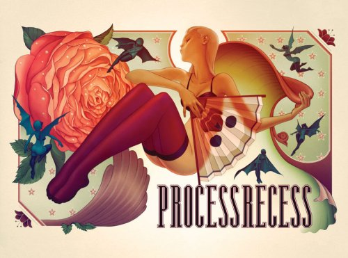Process Recess 2 by James Jean