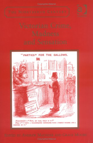 Victorian Crime, Madness And Sensation by Andrew Maunder