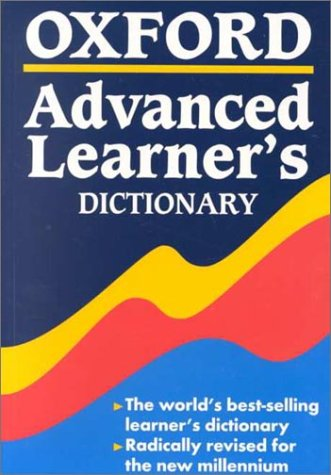 Oxford Advanced Learner's Dictionary by Albert Sydney Hornby