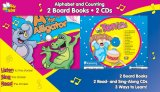 Alphabet and Counting Twin Pack [With 2 Board Books and 2 CDs]