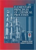 Elementary Principles of Chemical Processes [With CDROM]