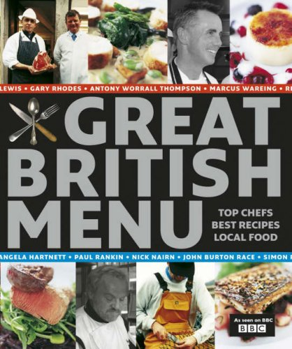 Great British Menu   Traditional Recipes by Angela Hartnett