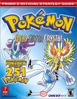 Pokemon Gold, Silver, and Crystal (Prima's Official Strategy Guide)