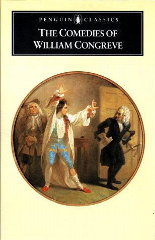 The Comedies of William Congreve