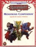 Monstrous Compendium Appendix III: Creatures of Darkness (Advanced Dungeons & Dragons, 2nd Edition, Ravenloft Accessory/2153)