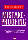 The Basics of Mistake Proofing