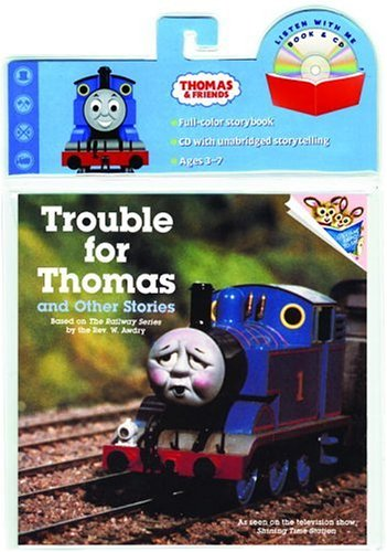 Trouble for Thomas Book & CD with CD (Audio) (Book and CD)