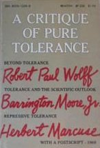A Critique of Pure Tolerance by Herbert Marcuse