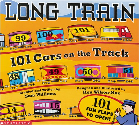 Long Train: 101 Cars On The Track