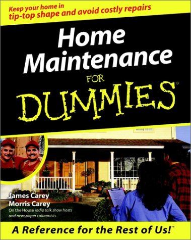 Home Maintenance for Dummies. by Morris Carey
