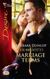 Marriage Terms (The Elliotts) (Silhouette Desire #1741)