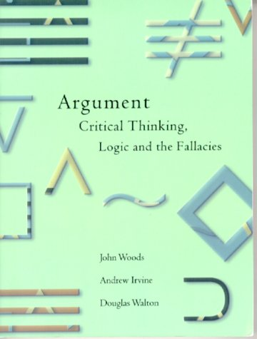 argument critical thinking logic and the fallacies A slippery slope argument (ssa), in logic, critical thinking, political rhetoric, and caselaw, is a consequentialist logical device in which a party asserts that a.