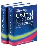 Shorter Oxford English Dictionary, 2 Volumes