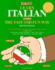Learn Italian the Fast and Fun Way [With Italian/English English/Italian Paperback Dict]