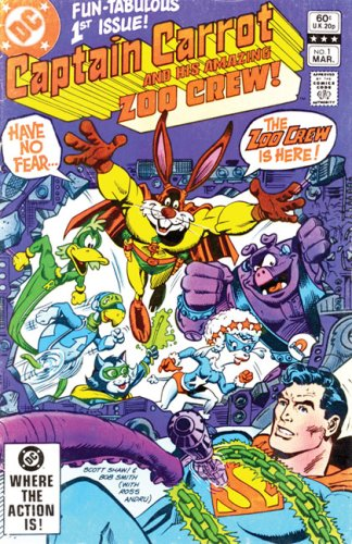 Showcase Presents: Captain Carrot