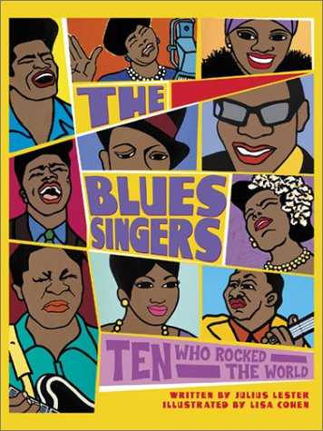 The Blues Singers by Julius Lester