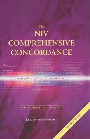 The NIV Comprehensive Concordance / C [International Bible So... by Anonymous