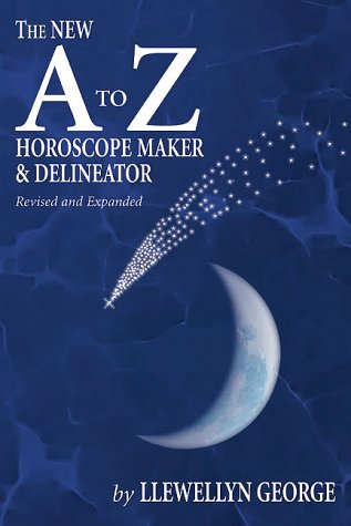 A to Z Horoscope Maker and Delineator, LLewellyh George, (1969), 25th edition