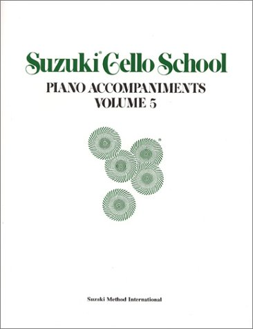 Suzuki Cello School, Piano Accompaniment, Volume 5