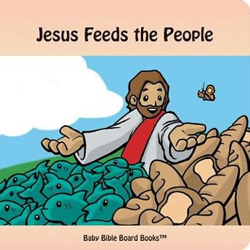 Jesus Feeds the People by Edward Bolme