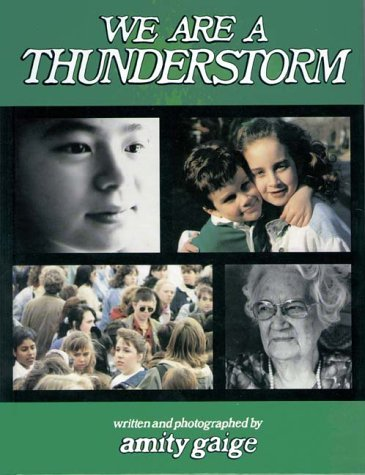We Are a Thunderstorm by Amity Gaige