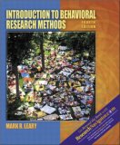 Introduction to Behavioral Research Methods with Research Navigator