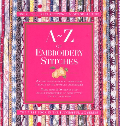 A z of embroidery stitches by sue gardner — reviews