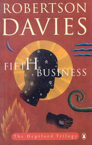 a review of robertson davies novel fifth business The paperback of the fifth business by robertson davies at  to review and enter to select  no one has yet written the great canadian novel, but in fifth.