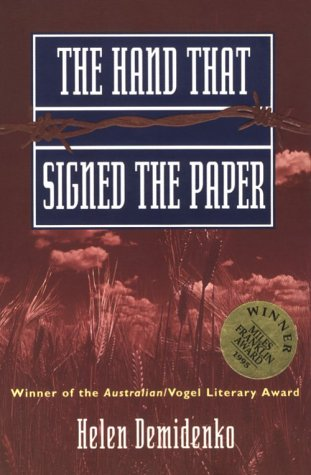 The Hand That Signed the Paper by Helen Darville