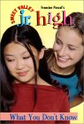 What You Don't Know (Sweet Valley Jr. High, #22)