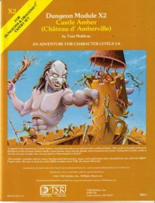 Castle Amber (Chateau D. Amberville) by Tom Moldvay