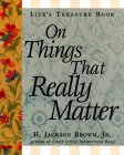 Life's Treasure Book On Things That Really Matter (Life's Little Treasure Books)