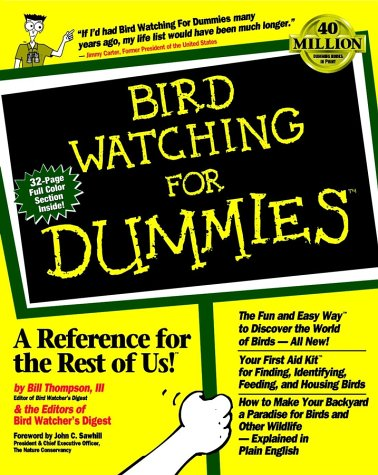 Free download Bird Watching for Dummies PDF by Bill Thompson III