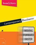 Contemporary Business- Text Only by David L. Kurtz